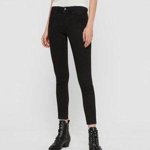 All Saints Grace Body Shaping Skinny Mid-Rise Jean